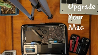 How to have your old Macbook Pro ready for 2018! (SSD, RAM, Optical Drive Bay Adapter)