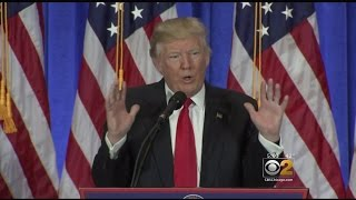 At News Conference, Trump Rails Against