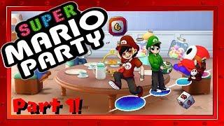 Let's Play: Super Mario Party! Megafruit Paradise - Part 1!