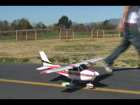 182 Skylane RTF Electric Scale RC Flight Review!