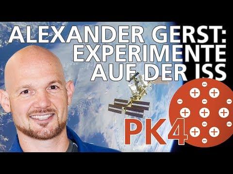 Alexander Gerst: Das Experiment PK4