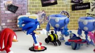 Sonic Stop Motion Adventures: Episode 15: Beauty And The Bot