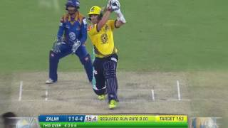 Brad Hodge all  Sixes in Pakistan Super League (PSL)