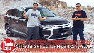 Mitsubishi Outlander 2.4L 4WD CKD - SUV 7 Tempat Duduk Paling Sempoi