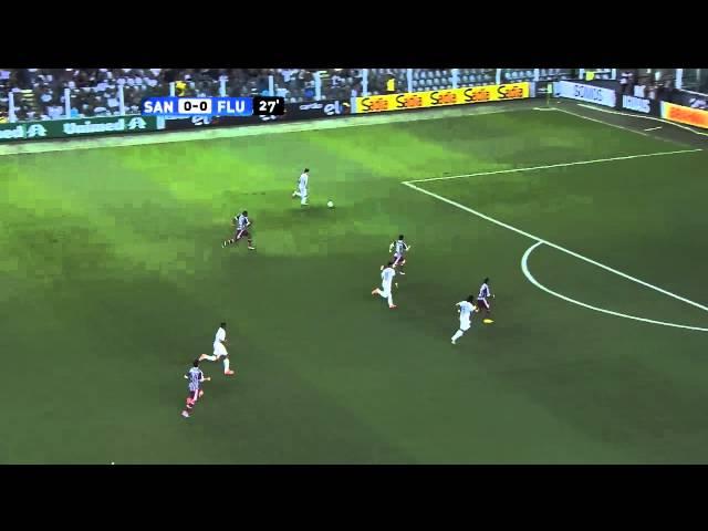 Santos vs. Fluminense
