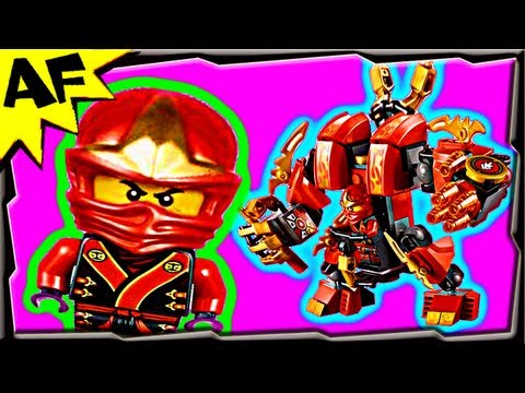 KAI's FIRE MECH - Lego Ninjago Set 70500 Animated Building Review