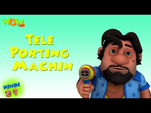 Teleporting Machine - Motu Patlu in Hindi WITH ENGLISH, SPANISH & FRENCH SUBTITLES thumbnail