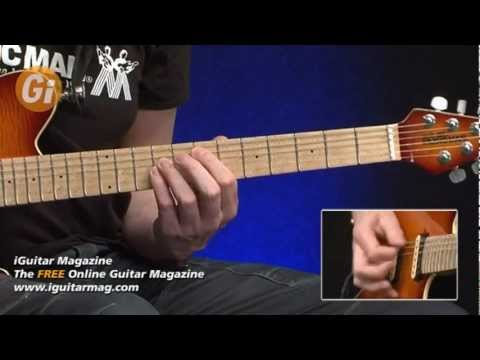 Michael Schenker Licks and Rhythm Style - Performance By Jamie Humphries iGuitar Magazine Issue 8