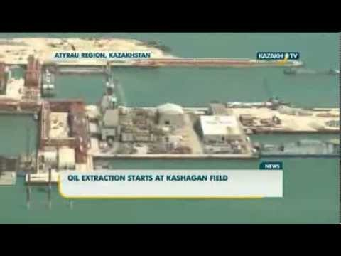 Oil extraction starts at Kashagan field