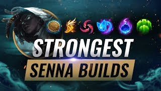 The MOST OVERPOWERED Senna Builds That Pros Are ABUSING - League of Legends