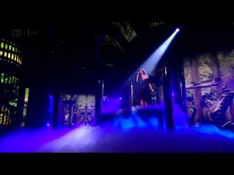 Nicole Scherzinger - Try With Me Live on The X Factor UK