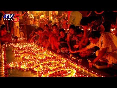 భక్తులతో కిటకిటలాడిన ఆలయాలు..! | Karthika Pournami Celebrations In Telugu States | TV5 News