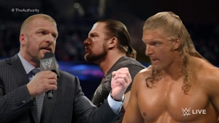 2017 ☁ Hunter Hearst Helmsley Confronts Triple H and Triple H ᴴᴰ