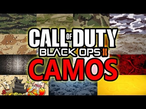 Black Ops 2 - ALL GUN CAMOS! (Call of Duty BO2 Multiplayer Weapon Camo Primary Secondary Launcher)