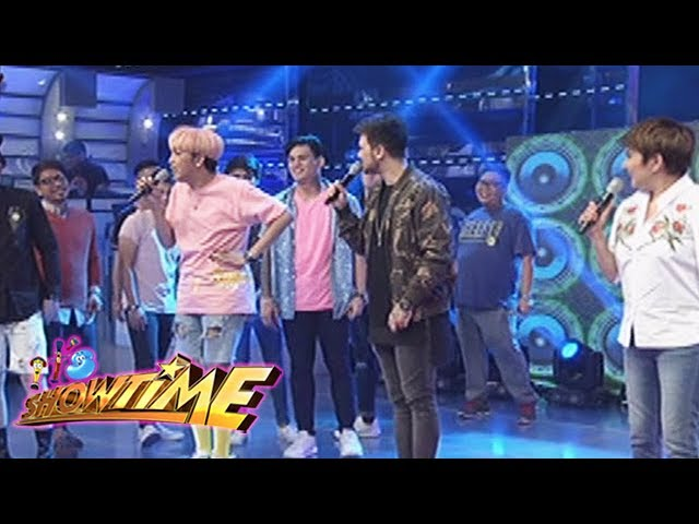 It's Showtime: Vice comically degrades  Team Nadine