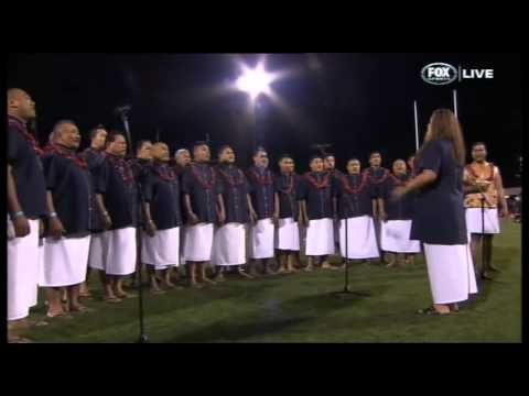 O Le Fu'a o Le Sa'olotoga o Samoa - Samoan National Anthem, Pacific Test 2013