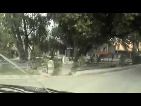 [part 1] Driving around Tarawa in Kiribati during Feb & March 2013