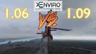 xEnviro 1.06 vs 1.09 Comparison | Visuals and Performance