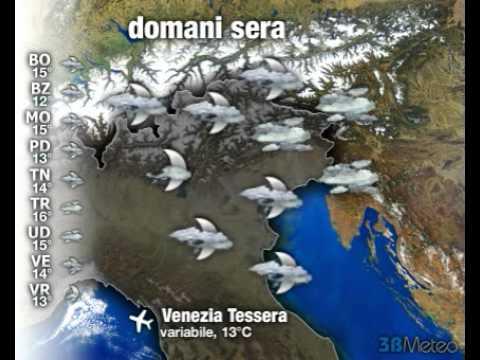 Meteo ITALIA del 15/10/2012