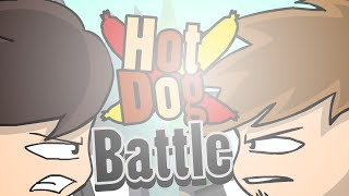 HOT DOG BATTLE !!
