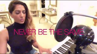Download Lagu Camila Cabello - Never Be The Same | Cover by Ranjini Gratis STAFABAND