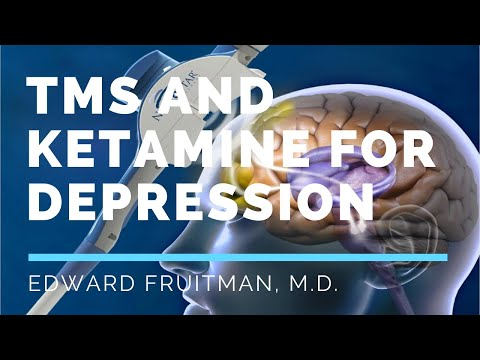 TMS and Ketamine: Novel approach for depression treatment