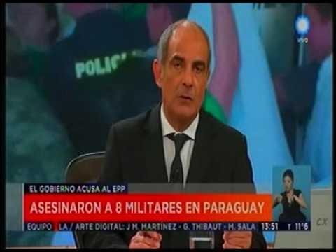 Asesinaron a 8 militares en Paraguay     Television Publica Noticias Internacional