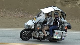 Touring the World on a Moto Guzzi Spada