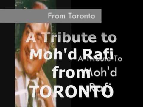 MUHABBAT KE SUHANE DIN JAWANI KI  by Mehboob Shaikh-Toronto