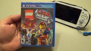 PSVita: The Lego Movie Game Hands On