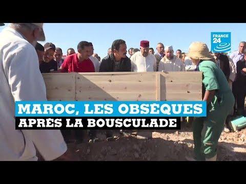 Maroc, les obsèques après la bousculade #1