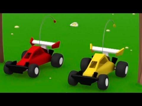 Мультики Детям - Мусти - Автогонки