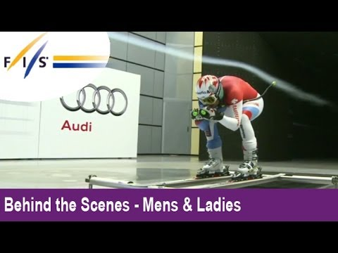 AUDI Wind Tunnel for Alpine Skiers - Behind the Scenes - Audi FIS Ski World Cup 2012