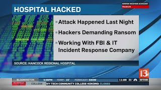 Hospitals computer system hacked