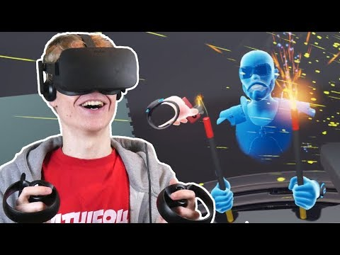 THE POWER OF SOCIAL INTERACTION IN VIRTUAL REALITY | Toybox VR (Oculus Touch Gameplay)