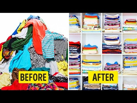 50 BEST LIFE HACKS TO ORGANIZE YOUR APARTMENT | 50 Best Home Organization Hacks