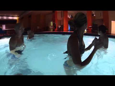 Gopro In The Pool. Oops!! She Forgot It Was On! video