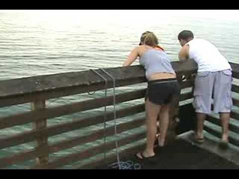 Juno Beach Pier Fishing Crew - 072208-16