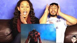 Spider-man Vs Darth Maul reaction by Jaby & M3tal_Jess!
