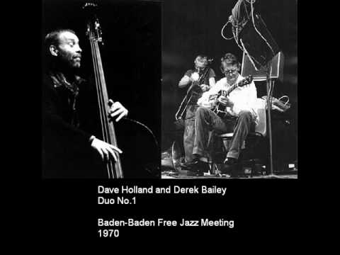 Dave Holland and Derek Bailey - Duo No 1