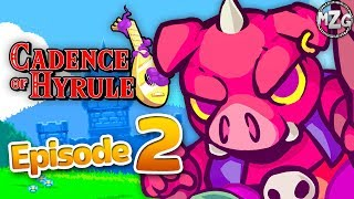 Cadence of Hyrule Gameplay Walkthrough - Episode 2 - New Weapons and Upgrades!