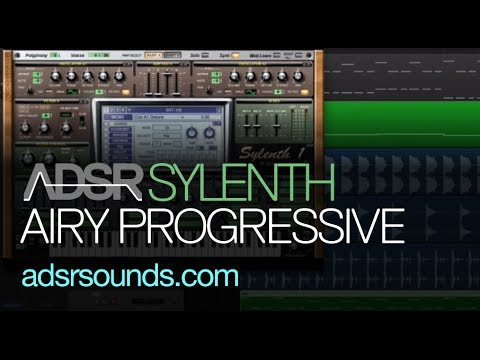 Sylenth tutorial - Airy EDM Progressive House Pluck