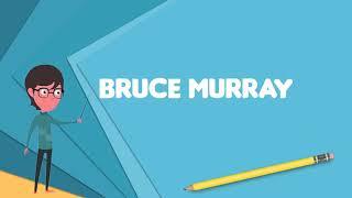 What is Bruce Murray (soccer)?, Explain Bruce Murray (soccer), Define Bruce Murray (soccer)