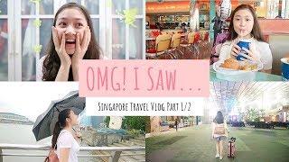 Travel Vlog To Singapore Day 1 & 2 || I Saw The Weeknd & Bella Hadid At Universal Studio!!