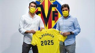 Alfonso Pedraza renueva hasta 2025