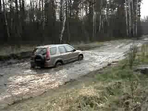 honda crv offroad - YouTube
