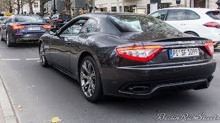 MASERATI GRAN TURISMO S - EPIC SOUNDS WAKE UP THE CITY
