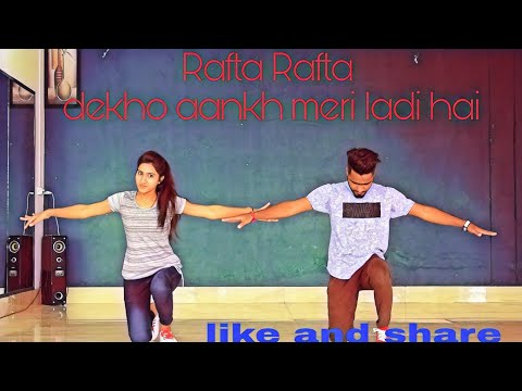 Rafta Rafta medly||yamla pagla deewana fir se||dance cover by||Amit dragon and aanchal sharma