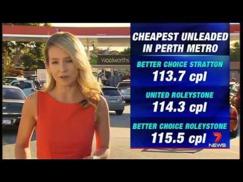 Cheap Fuel | Seven News Perth | 23/12/2014