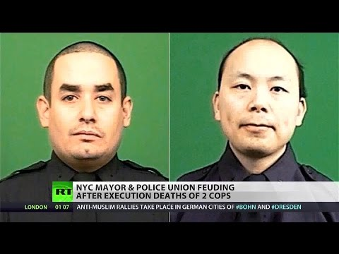 Assailant executes NYPD officers in broad daylight